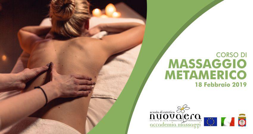 Scuola Estetica Nuova Era corso massaggio metamerico
