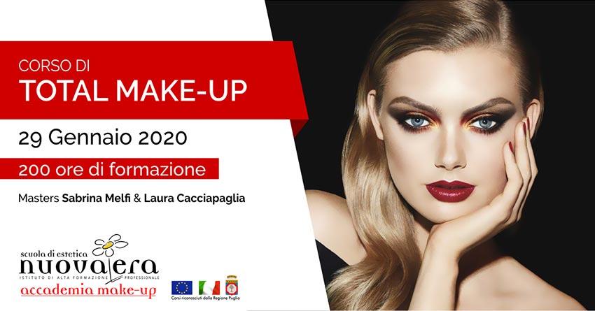 Corso di Total Make-Up – 28 Gennaio 2020