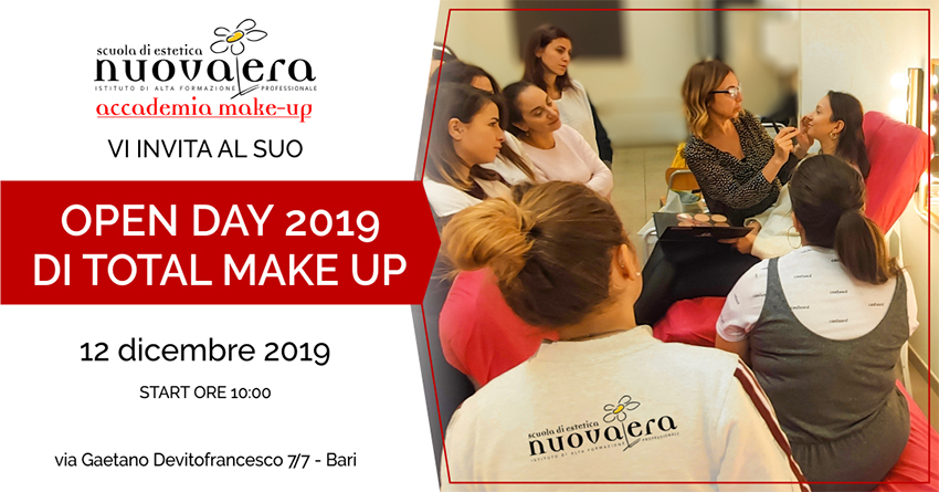 Open Day Total Make Up