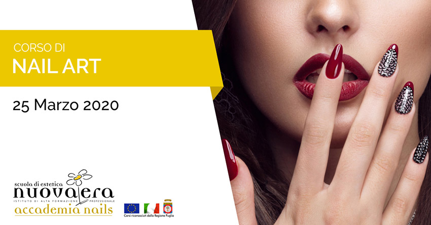 Corso di Nail Art – 25 Marzo 2020