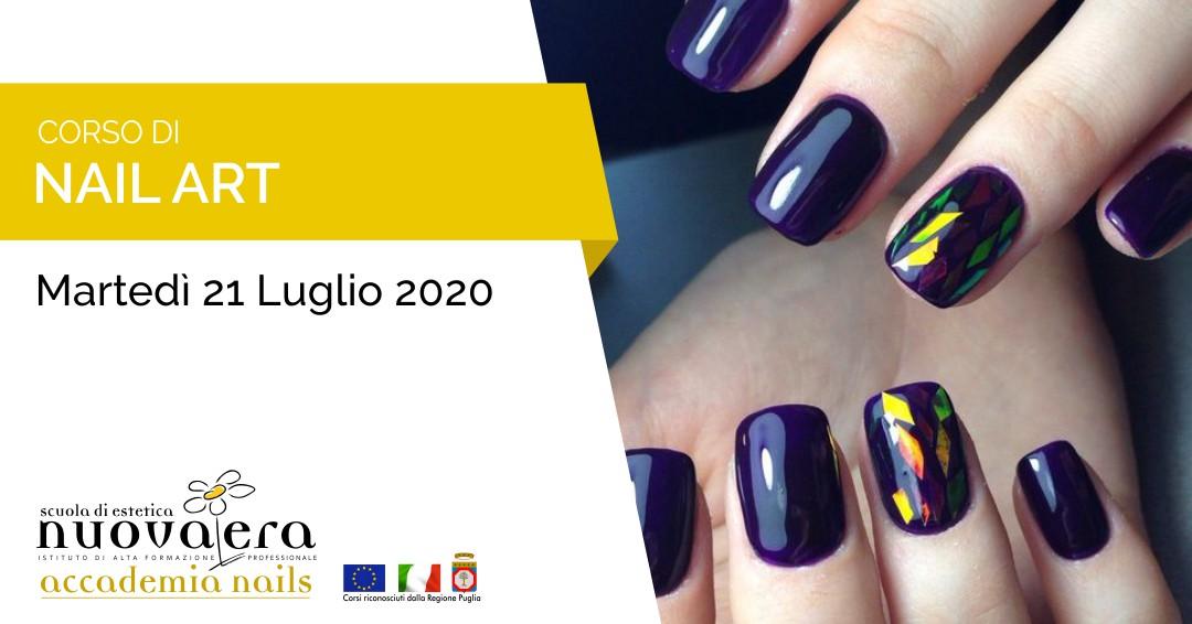 Corso di Nail Art – 21 Luglio 2020