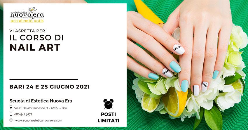 Corso di Nail Art – 24 e 25 giugno 2021