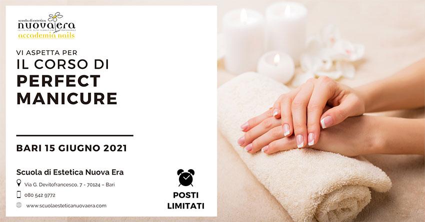 Corso di Perfect Manicure – 15 giugno 2021