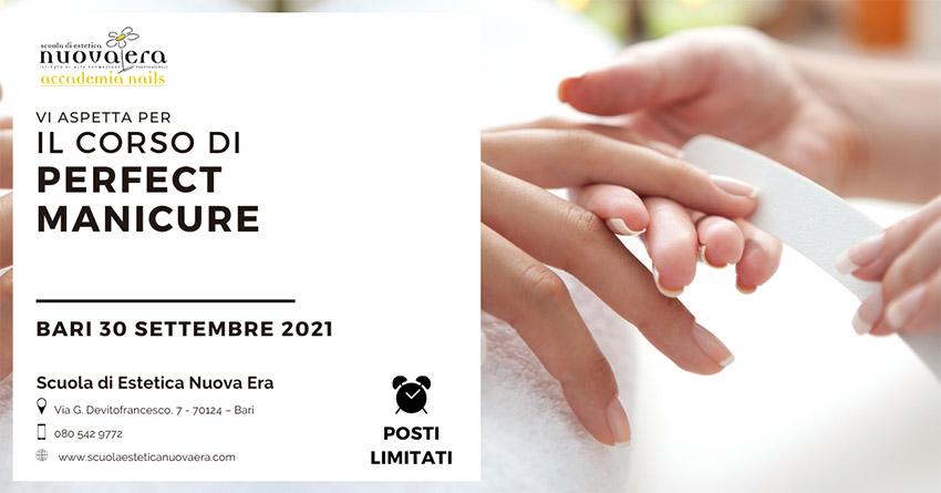 Corso di Perfect Manicure – 30 Settembre 2021